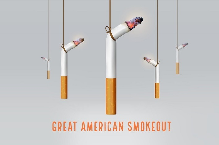 The Great American Smokeout: No Step to Health is Greater